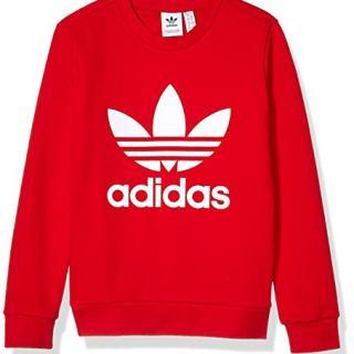 adidas Originals Little Kids Trefoil Crewneck Sweatshirt