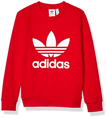 adidas Originals Little Kids Trefoil Crewneck Sweatshirt
