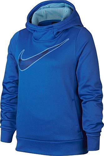 Nike Girl's Therma Shine Graphic Hoodie