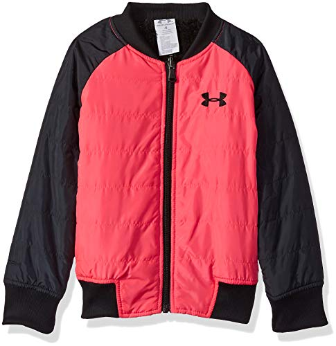Under Armour Girls' Toddler ColdGear Reversible Bomber Jacket