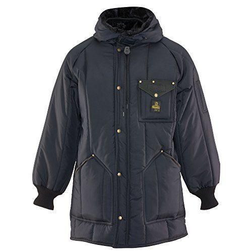 RefrigiWear Men's Iron-Tuff Ice Parka Water-Resistant Insulated Coat