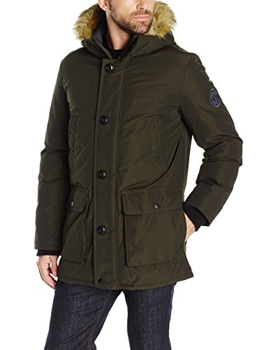 Tommy Hilfiger Men's Ultra Loft Insulated Arctic Cloth Snorkel