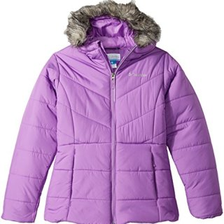 Columbia Girls' Big Katelyn Crest Jacket, Crown Jewel