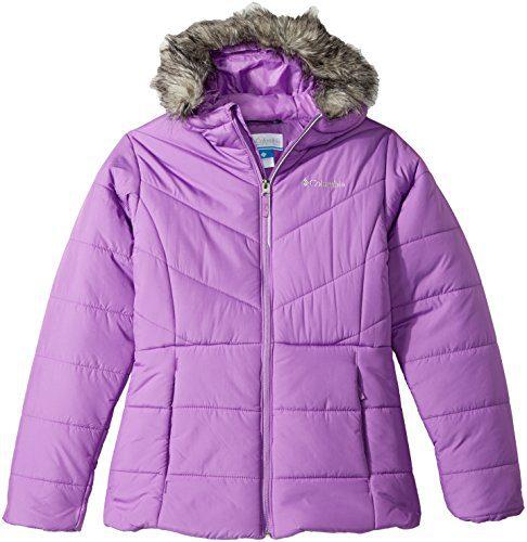 Columbia Girls' Big Katelyn Crest Jacket, Crown Jewel