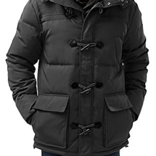 BGSD Men's Connor Hooded Waterproof Toggle Down Parka Coat