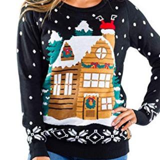 Tipsy Elves Women's Light Show Light Up Sweater