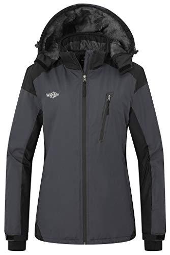 Wantdo Women's Mountain Jacket Wind Block Winter