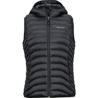 Marmot Women's Bronco Hooded Vest Black X-Large
