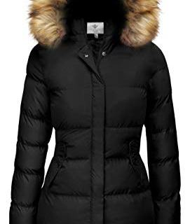WenVen Women's Winter Thicken Padded Parka