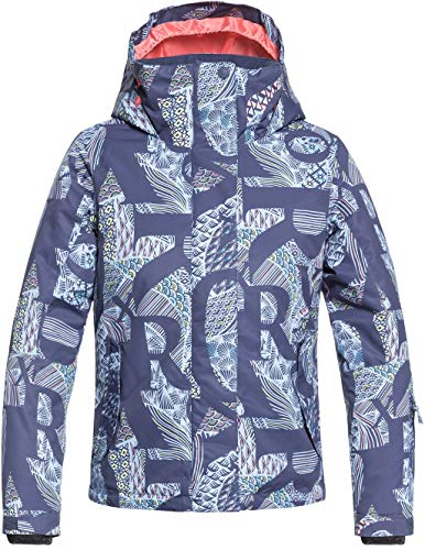 ROXY Little Jetty Girl Snow Jacket, Crown Blue