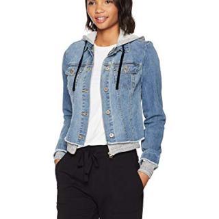 Jessica Simpson Women's Peony Relaxed Denim Jacket
