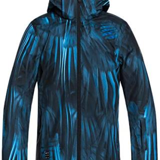 Quiksilver Boys' Big Mission Printed Youth 10K Snow Jacket