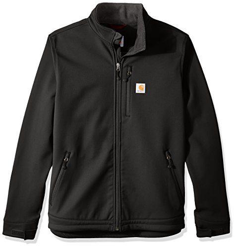 Carhartt Men's Big & Tall Crowley Jacket, Black