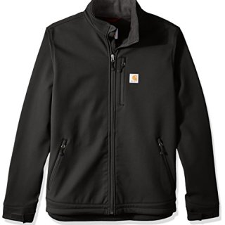 Carhartt Men's Big & Tall Crowley Jacket, Black