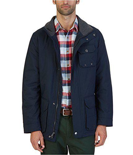 Nautica Men's Multi-Pocket Parka Jacket