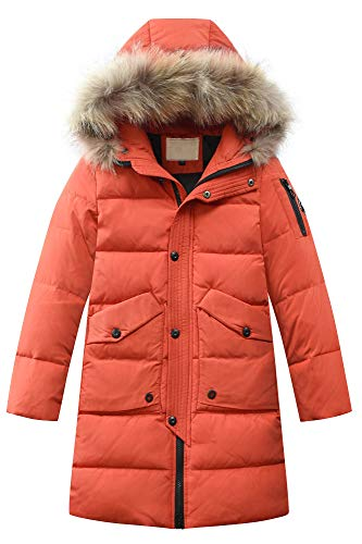 JiaYou Toddler Kid Child Boy Hooded Thick Winter Parka Mid/Long