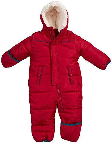 Ben Sherman Baby Boys Bubble Snowsuit Pram with Sherpa Hood