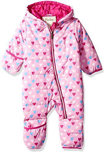 Hatley Baby Girls Mini Winter Bundlers, Little Hearts