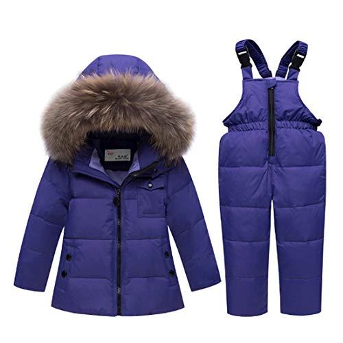Ding Dong Baby Tollder Kid Boy Girl Winter Hooded Fur Down Parka Puffer