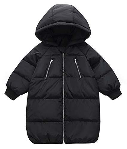 Happy Cherry Baby Girls Down Coat Puffer Hoodie Jacket Winter Outerwear