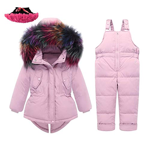 M&A Baby Girls Boys Winter Hooded Down Coat Puffer Jacket