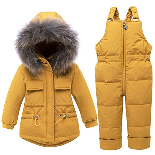 WESIDOM Baby Boys Girls Snowsuit,Toddler Winter Outfit Sets Kids