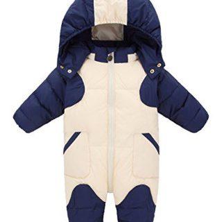 GainKee Baby Girl and Boy Snowsuit Duck Down Jacket Kids Snow