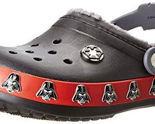 crocs Darth Vader Clog (Toddler/Little Kid),Black