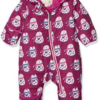 Hatley Baby Girls Mini Winter Bundlers, Cuddly Penguins