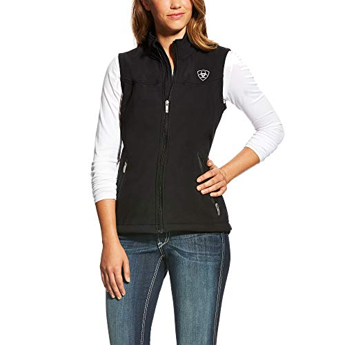 ARIAT Women's New Team Softshell Vest Black Size Small