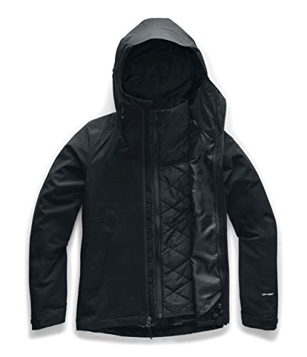 The North Face Women's Carto Triclimate Jacket, TNF Black