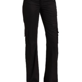 Dickies Women's Relaxed Cargo Pant Rinsed Black