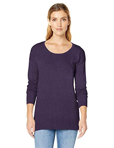 Amazon Essentials Women's Lightweight Scoopneck Tunic Sweater