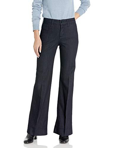 NYDJ Teresa Trouser Jeans in Premium Denim, Dark Enzyme