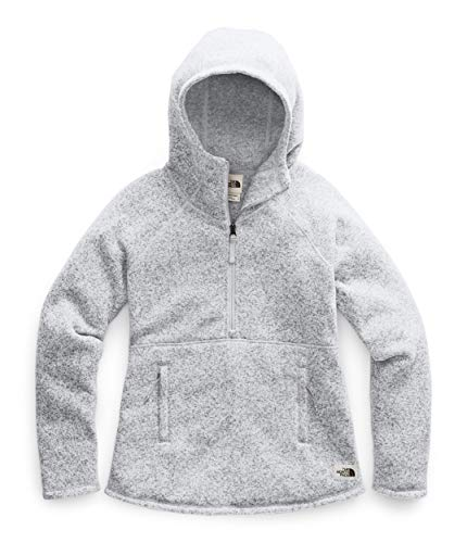The North Face Women's Crescent Hooded Pullover, TNF Light Grey Heather