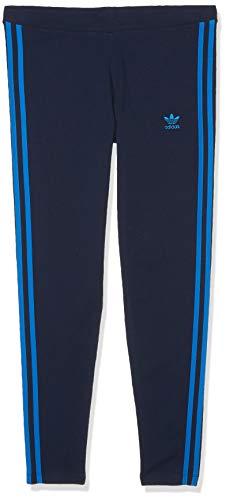 adidas Originals Women's 3 Stripes Leggings, collegiate Navy/Bluebird