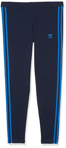 adidas Originals Women's 3 Stripes Leggings, collegiate Navy/Bluebird