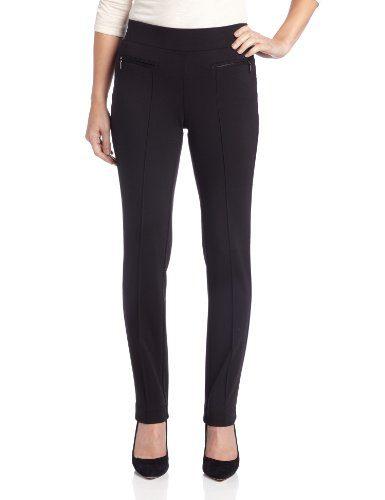Rafaella Women's Ponte Comfort Slim Leg Pant