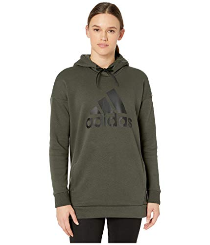 Adidas Must Have Badge of Sport Hoodie Legend Earth LG