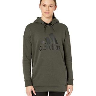 Adidas Must Have Badge of Sport Hoodie Legend Earth LG