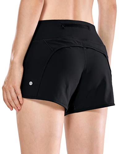 CRZ YOGA Women's Quick-Dry Athletic Sports Running Workout Shorts