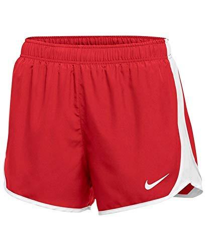 Nike Dry Tempo Short (Scarlet/White/White/(White), Small)