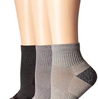 Merrell Women's 3 Pack Cushioned Performance Hiker Socks
