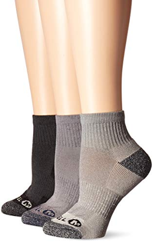 Merrell Women's 3 Pack Cushioned Performance Hiker Socks