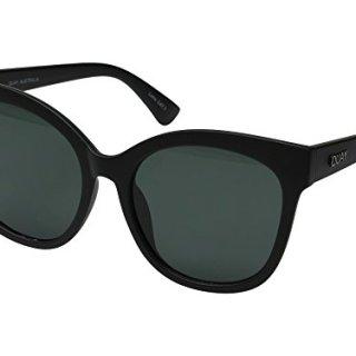 Quay Australia IT'S MY WAY Women's Sunglasses Oversized Cat Eye -Black/Smoke