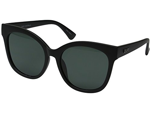 Quay Australia IT'S MY WAY Women's Sunglasses Oversized Cat Eye -Black/Smoke