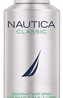 Nautica Deodorant Body Spray for Men, Classic