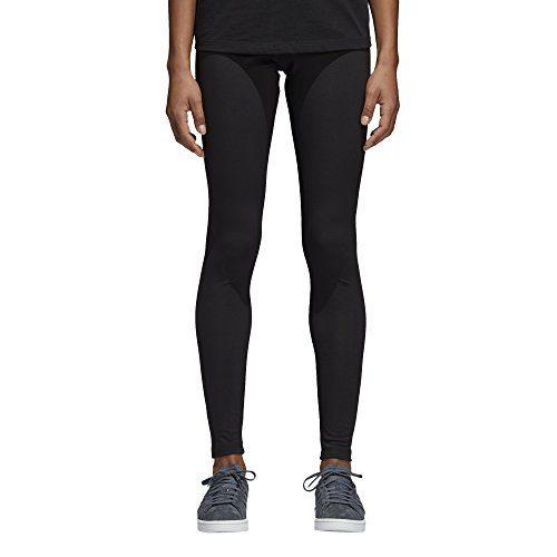 adidas Originals Women's Trefoil Leggings, Black/Mini Logo