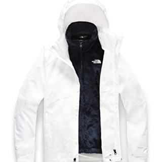 The North Face Women's Osito Triclimate Jacket, TNF White/TNF White