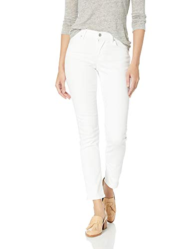 Levi's Women's Classic Mid Rise Skinny Jeans, Pure White